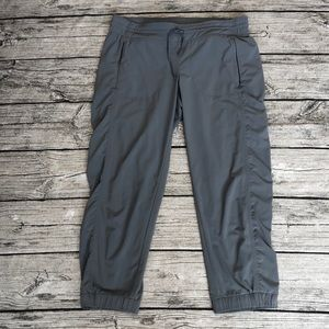 Women's Athleta jogger capris, size 10 Tall.